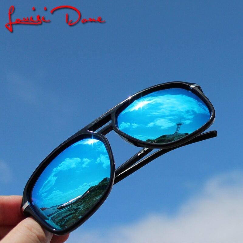 Men Polarized Sunglasses Fashion Women Sunglasses Driving Glasses Mirrors Double Nose -8536