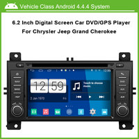 Android Car DVD Video Player For Jeep Grand Cherokee GPS Navigation Multi Touch Capacitive Screen 1024