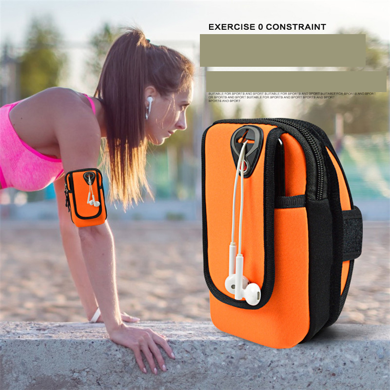 Running Bag For Phone Arm Bag Jogging Gym Armband Bag Arm Band Case Cover For iPhone 6/6 Plus