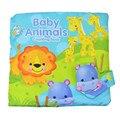 Baby Animals Подсчет Ткань Книги Детские Книги Дети Образование Toys Раннего Развития Образования детей Игрушки