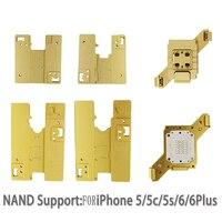 Оригинальный WL NAND PCIE NVME Flash HDD Тесты приспособление инструмент для IPhone 5 5C 5S 6 6 плюс 6 S 6splus 7 7 Plus 8 8 плюс