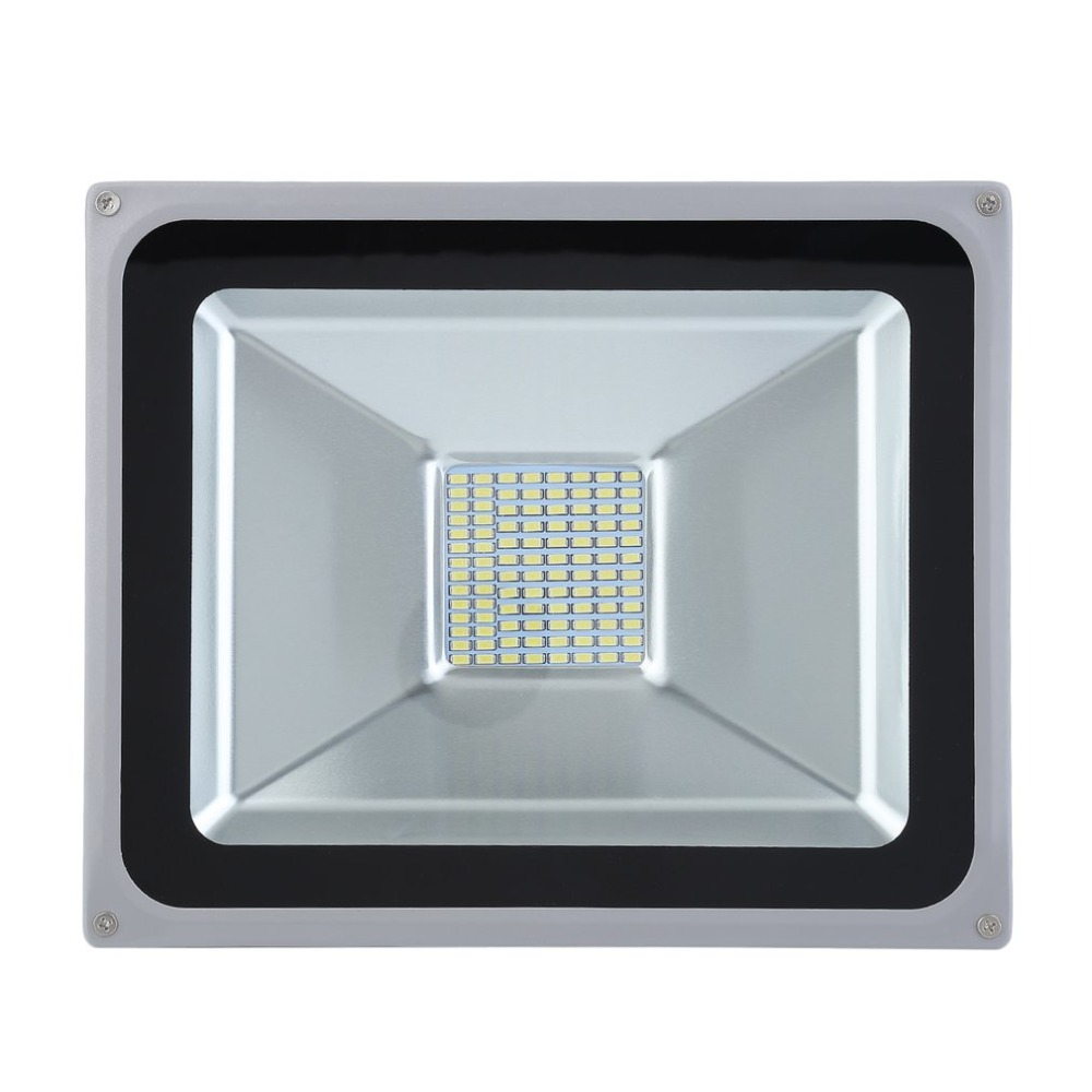 50W LED Outdoor Landscapes Floodlight SMD Compact Slim IP65 Waterproof Security Lamp Ideal Replacement Light Outdoor Floodlight