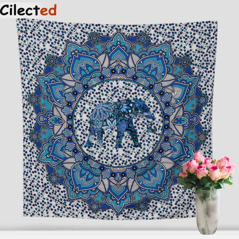 Decorative Wall Hanging Tapestry : Indian mandala tapestry hippie home decorative wall