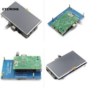 Image 4 - Module LCD 5.0 pouces Pi TFT 5 pouces écran tactile résistif 5.0 pouces écran LCD bouclier module HDMI interface pour framboise Pi 3 A +/B +/2B