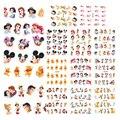 11 Hojas/un juego BLE488-498 un conjunto (11 Hoja EN 1). Agua decal Nail Stickers Cartoon diseño de uñas pegatina De uñas accesorios