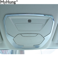 Car cover skylight switch cover decoration ring decoration strip for Ford Escape Kuga 2017 2018 auto accessories 1pc