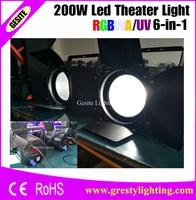 4 teile/los 200 Watt COB Par Licht warm weiss farbe par können bühnenbeleuchtung-in Bühnen-Lichteffekt aus Licht & Beleuchtung bei