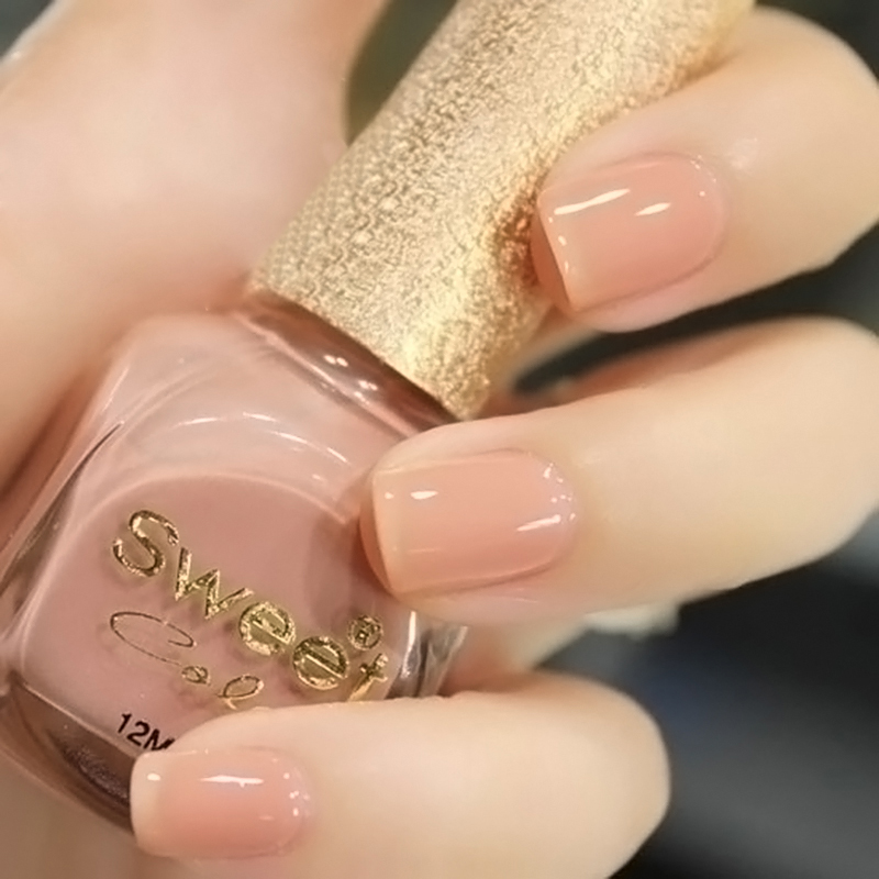 Aliexpress Buy Nail Polish Sweet Color Eco Friendly Oil Nude