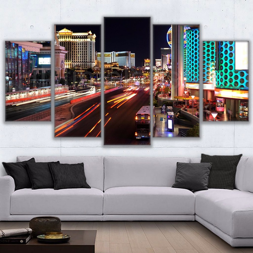 Modern HD Printed Pictures Frame Canvas Wall Art Living