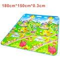 Padrão de Parque de diversões Crianças Educacional Playmat Tapete do Assoalho Tapete esteira do Jogo Do Bebê Crianças Infantis Jogos Jogando Cobertor Para Crianças