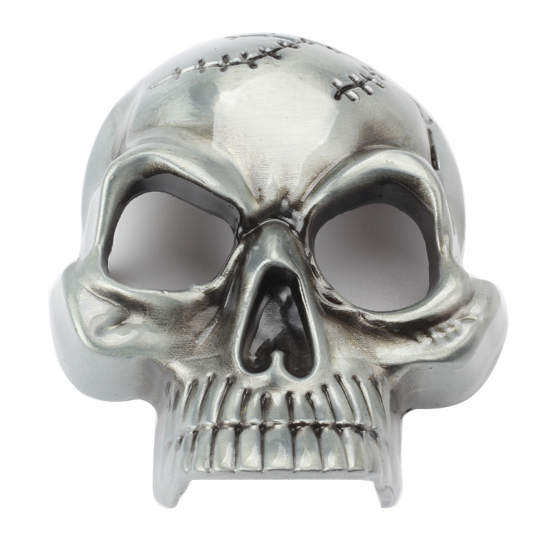 The Scalp Skull Buckle Head Smooth Alloy Buckle