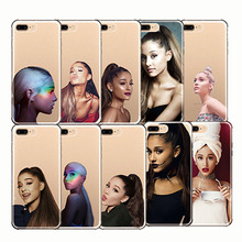 Ariana Grande Celebrity United States AG Rainbow Sweetener Soft Silicon Phone Cases Cover for IPhone 7 8 Plus 5S SE X 6PLUS XS