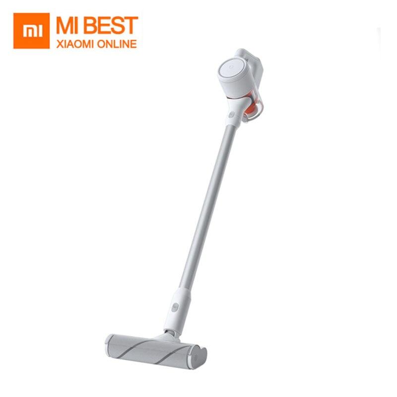 Nowy Xiaomi Mijia odkurzacz ręczny dla domu samochód gospodarstwa domowego bezprzewodowy aspirador 23000 Pa cyklon ssania wielofunkcyjna szczotka w Odkurzacze od AGD na  Grupa 1