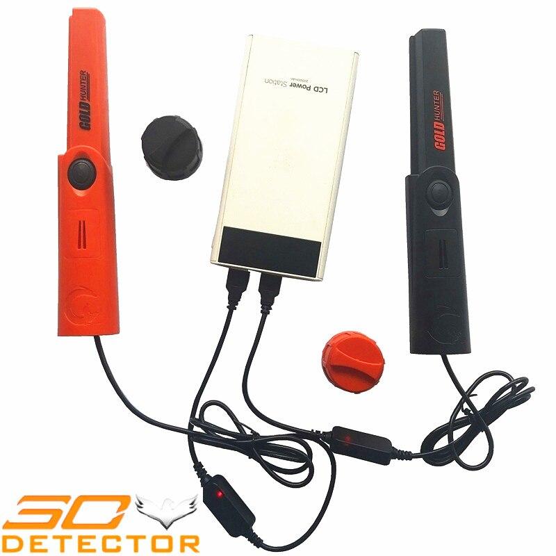 Détecteur de métaux portatif rechargeable TMR USB détecteur de métaux étanche