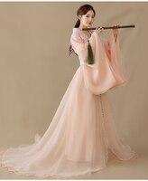 2019 new chinese traditional dynasty ancient costume women hanfu dress chinese fairy dresses dance costume hanfu clothing