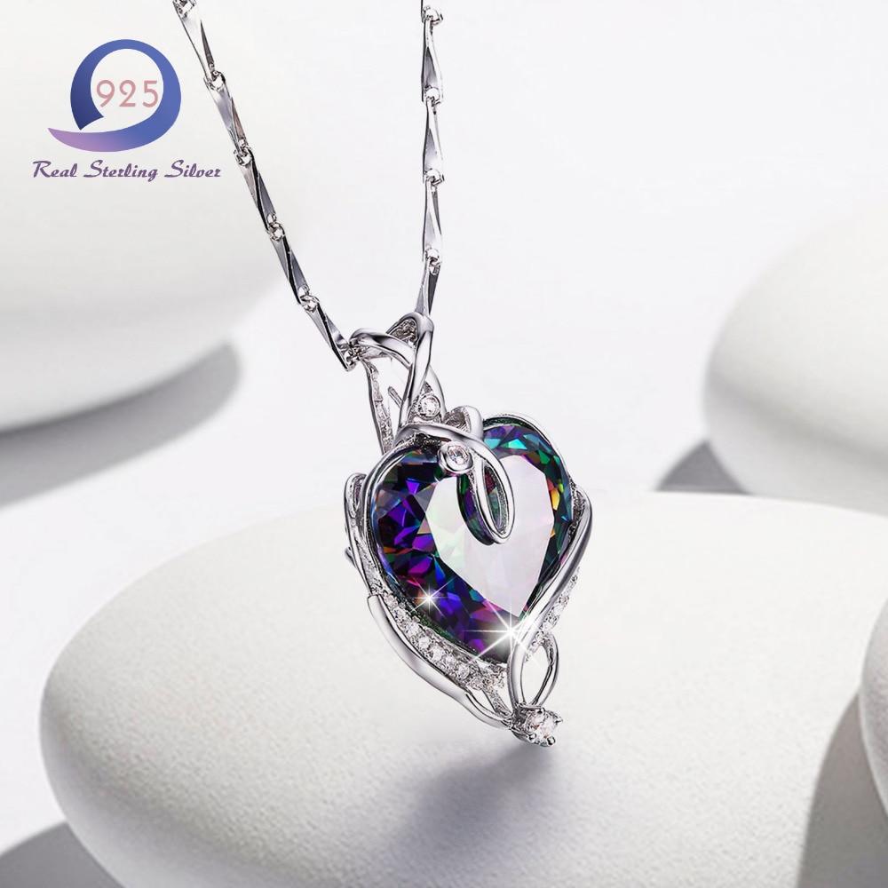 Merthus Trendy 925 Sterling Silber Chian Halskette Mystic - Edlen Schmuck - Foto 5