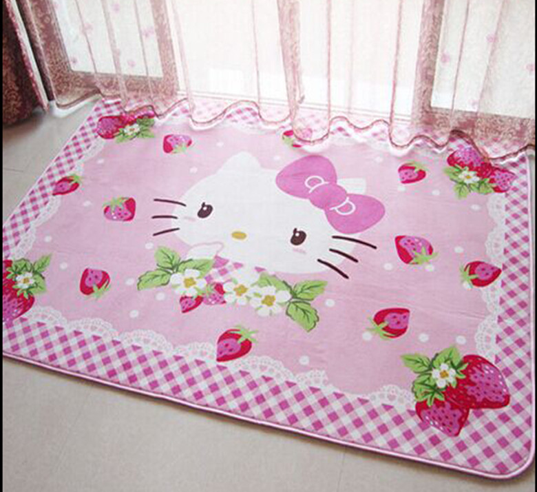 appealing hello kitty living room | Aliexpress.com : Buy 140x200cm Hello Kitty Carpets For ...