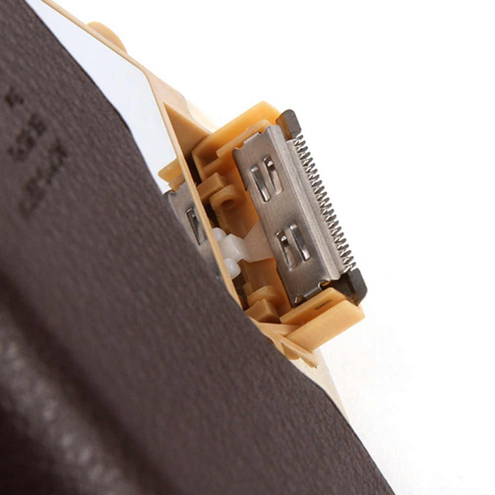 2018 新充電式あごひげカミソリシェーバー電気シェービング男性のヘアトリマークリッパーコードレスパーソナル電気フェイスケア