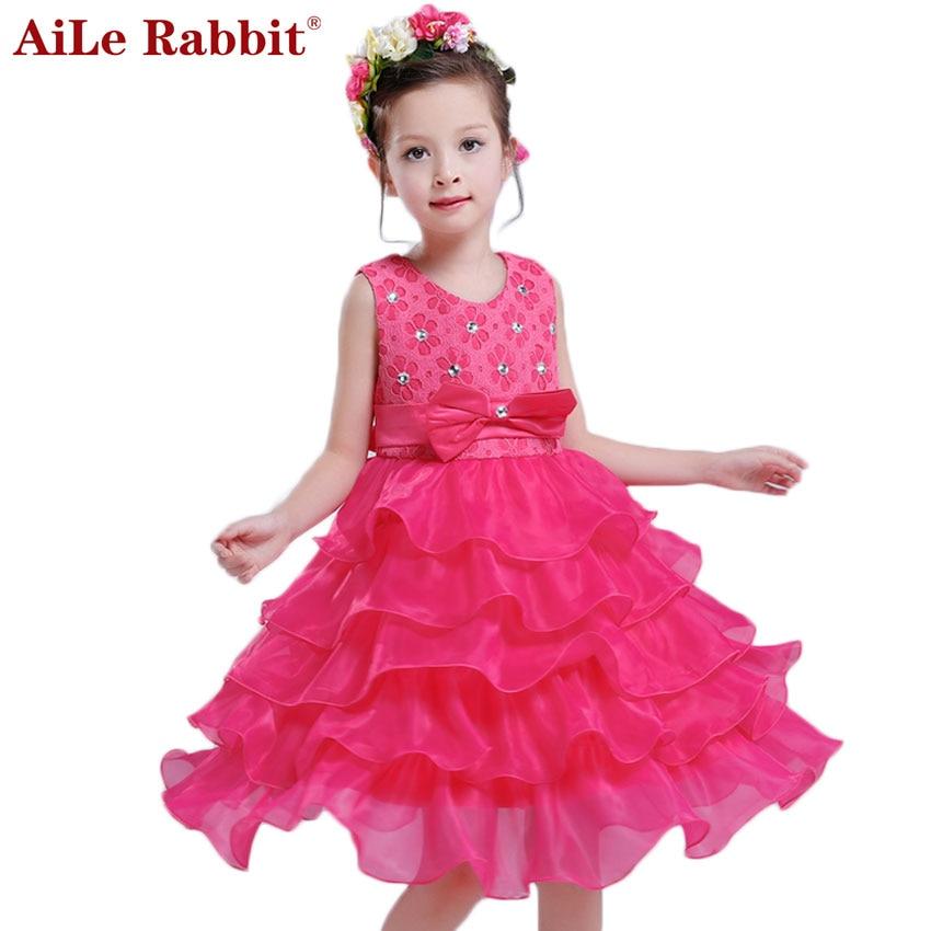 2018 Bērnu kleitas meitenēm Aile trušu meiteņu kleitas princese - Bērnu apģērbi