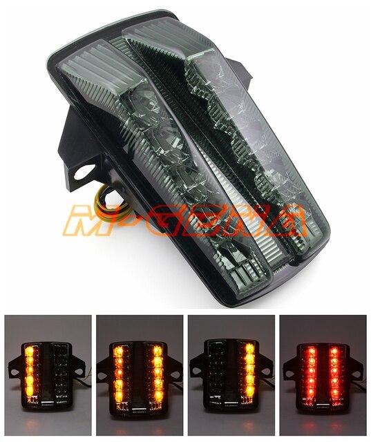 الخلفية بدوره إشارة الذيل إيقاف الضوء مصباح المتكاملة ل SV650 SV 650 2003 2008 SV1000 SV 1000 2003 2007 03 04 05 06 07