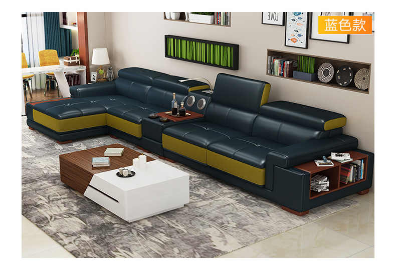 Detail Feedback Questions about Living Room Sofa corner sofa real ...
