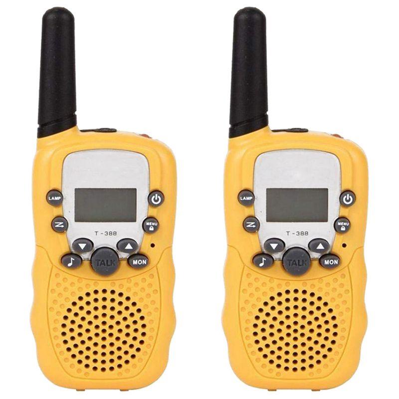 Walkie Talkies 8 Channel 2 Way Radio Kids Toys Wireless 0.5W Long Distance Range Walkie Talkie For Field Survival Biking And H