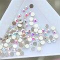 2016 nova moda 1000 pçs/saco limpar AB acrílico Nail Art Glitter strass ferramentas unhas decoração DIY