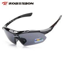ROBESBON Óculos Polarizados Óculos de Ciclismo MTB Bicicleta de Estrada Ao  Ar Livre Dos Homens Do Esporte Da Bicicleta Óculos Eq.. 7d86cb0c8d