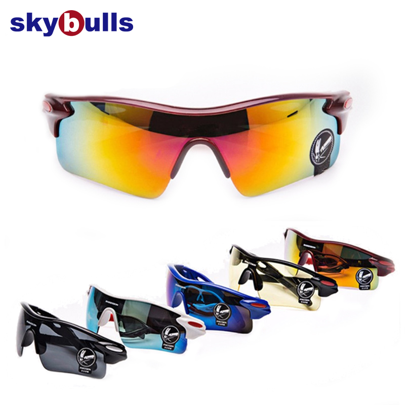 1PC Unisex Bicycle Sports Sunglasses Outdoor Riding Fishing Summer Goggles UV400 Cycling Eyewear Colorful Protection Glasses