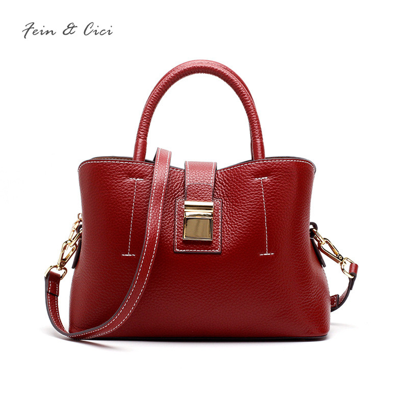 genuine cow leather totes bag handbag women luxury brand crossbody shoulder bag high quality red black green brown 2017 new luxury brand chains double flap bag 100% genuine leather sheepskin women classic shoulder bag handbag totes red black beige pink
