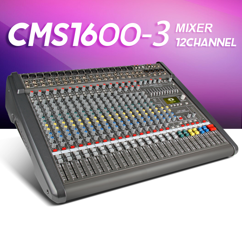 Audio mixer CMS1600-3 CMS Compact Mixing System Professional Live Mixer with Concert Sound Performance digital 24/48-bit effects