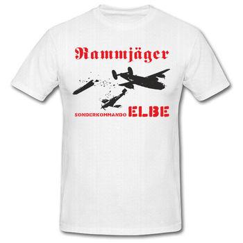 2019 Pria Keren Kemeja Tee Sonderkommando Elbe Aeproduct. Getsubject () Me109 Luftwaffe Flieger-T Shirt Musim Panas T-shirt