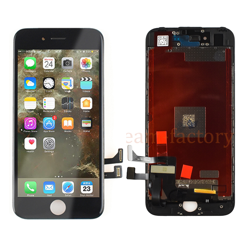 10PCS LCD Display Touch Screen Digitizer Assembly Replacement Parts for iPhone 7 Plus free DHL