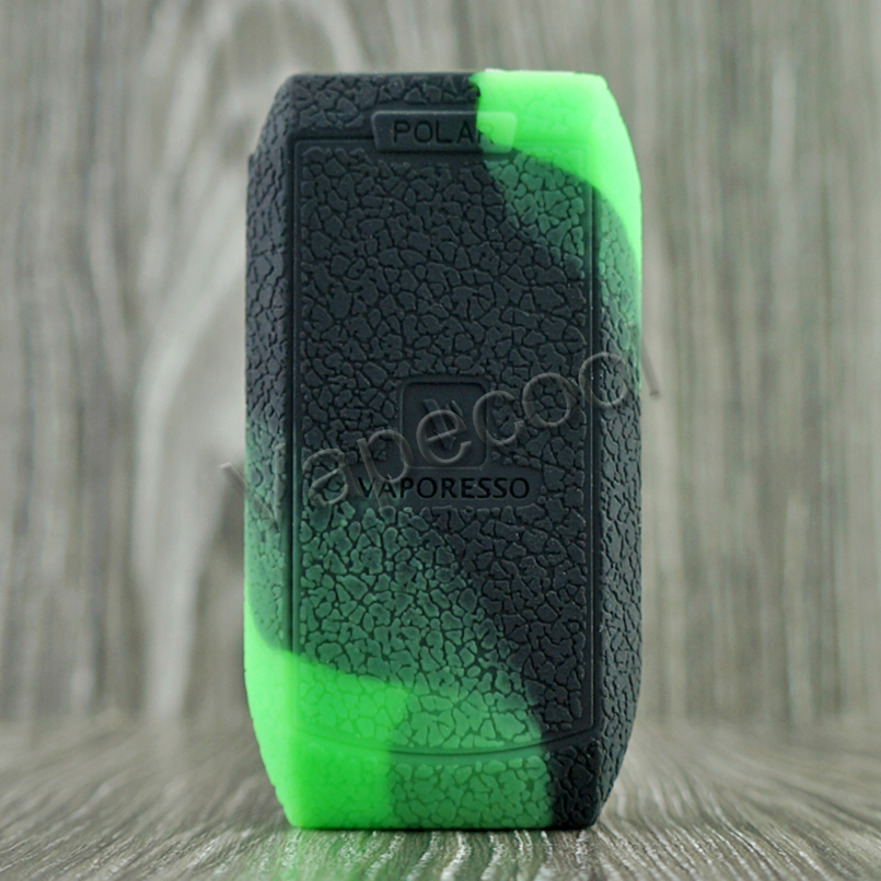 2018 Vaporesso polar 220W Non slip Silicone Case Skin Cover Warp Sticker Sleeve Thicker for Vape Vaporesso polar 220 W Box mod in Cases from Consumer Electronics
