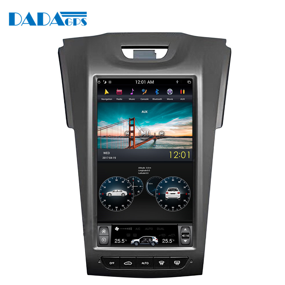 11 8 Tesla style Android Car multimedia Radio player For Chevrolet S10 for ISUZU D MAX