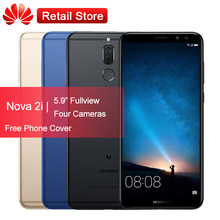 Huawei Mate 10 lite Nova 2i Phone 5.9'' HD Kirin 659 Octa Core Android 7.0 3340mAh 4 Cameras Fingerprint 4GB 64GB Smartphone OTA(China)
