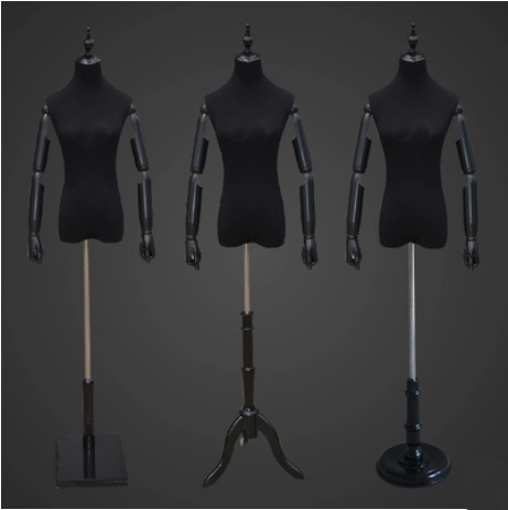 Luxury Fashionable Female Mannequin Maniqui High Quality Upper-body Adjustable Fabric Mannequin Dress Forms Dressmaker Mannequin mannequin