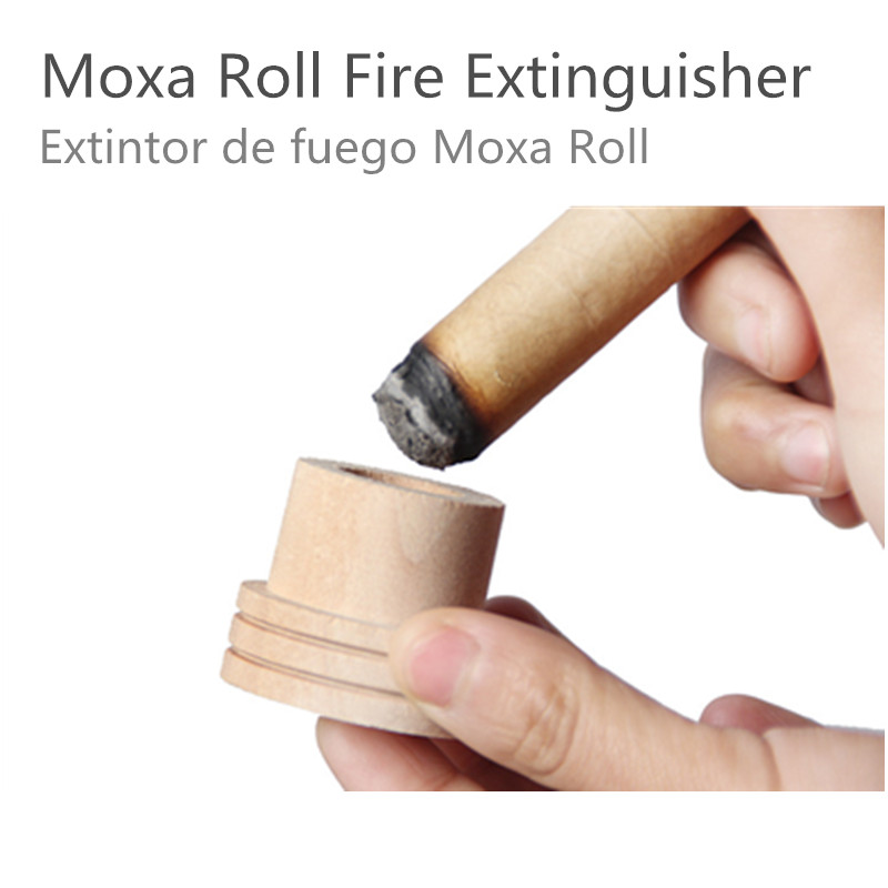 3pcs Wooden Moxa Extinguisher Roller Roll Holder Stick Moxibustion Device Massage Box Smokeless Acupuncture Artemisia 150pcs smokeless moxa stick acupuncture massage moxibustion moxa wormwood artemisia 7mm 120mm high density heat free shipping
