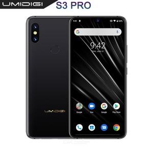 "Image 1 - UMIDIGI S3 PRO Android 9.0 48MP + 12MP + 20MP 5150mAh 128GB 6GB 6.3 ""NFC ทั่วโลกรุ่นสมาร์ทโฟนปลดล็อกโทรศัพท์มือถือ OCTA Core"