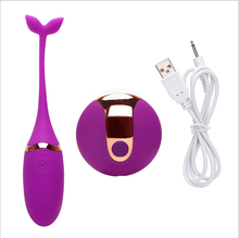 Adult USB wireless tadpoles remote control fishtail jump eggs husband and wife sex toys