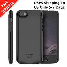 US Fast Shipping For iPhone SE 5SE 5 5S Battery Charger Case 4000mAh Charging Powerbank Case For iPhone 6 6S 7 8 Battery Case oasis softi 4000mah 23100 35 page 8