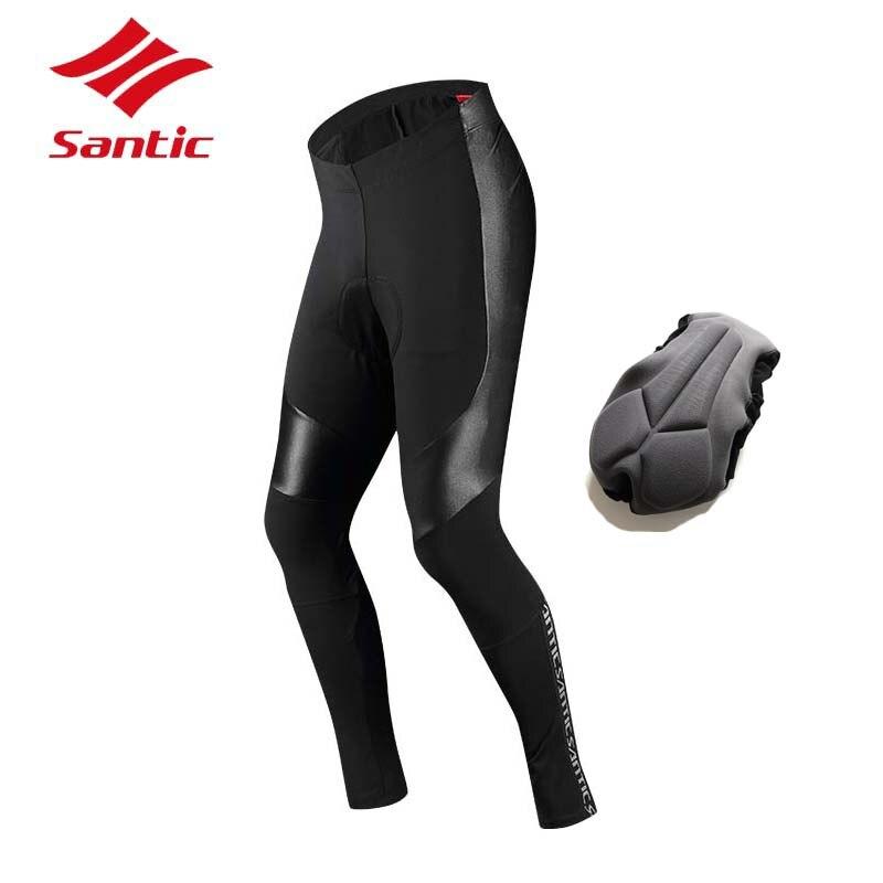 Santic Cycling Pants Pro Padded Long Bike Trousers MTB Road Racing Bicycle Pants Cycling Clothing Downhill Pantalones Ciclismo