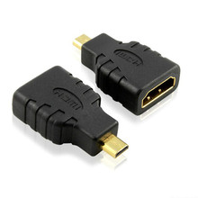 Hot Selling! Micro HDMI type D to HDMI Female Converters Adapter For Microsoft Surface RT Factory Price Mar6
