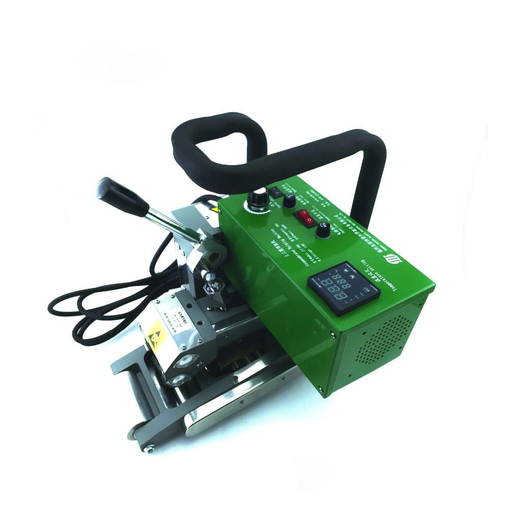 1800W geomembrán átfedő ékhegesztő Forró ékhegesztő gép PE hegesztőgép HDPE hegesztőgép biogázhoz