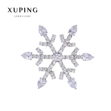Xuping Elegant Synthetic CZ Diverse Styles Pearl Brooch for Mother's day Gift 2017 New 00086-12#