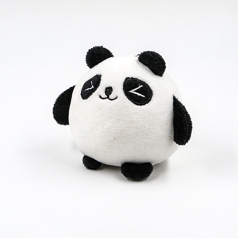 Cute 9CM Panda Stuffed Plush Toys Doll Gift Small Cartoon Plush Toys Pendant Stuffed Plush Toy Stuffed Animals Dolls