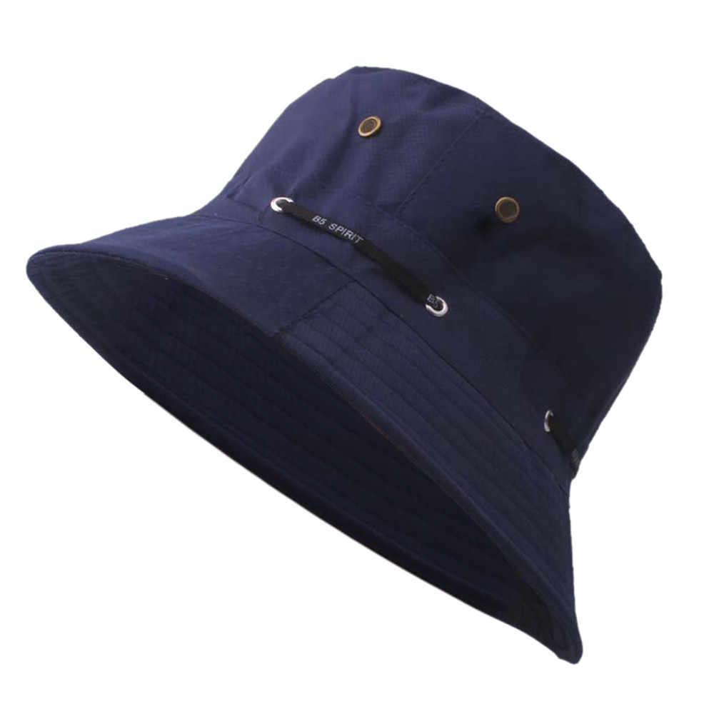 Womens Casual Sun Hat Wide Brim Basin Hat Outdoor Beach Visor Hat Camping Fishing Cap with Black Bandage