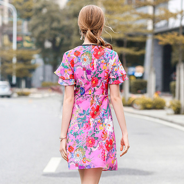 Knee Length Casual Dress Woman