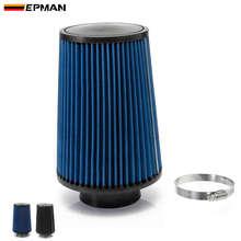 EPMAN Универсальный 76 мм и 240 мм высота фильтр холодного воздуха работа 76 мм воздухозаборник EP-AF002G