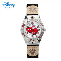 Disney Watch 63906 Car Number Shell Black Woven Watch